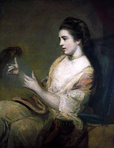 Kitty Fisher by Joshua Reynolds